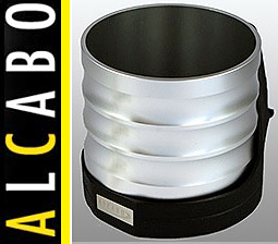 【M's】W211 ベンツ AMG Eクラス(2002y-2010y)ALCABO 高級 ドリンクホルダー(シルバー)//アルカボ カップホルダー AL-M303S ALM303S_画像1