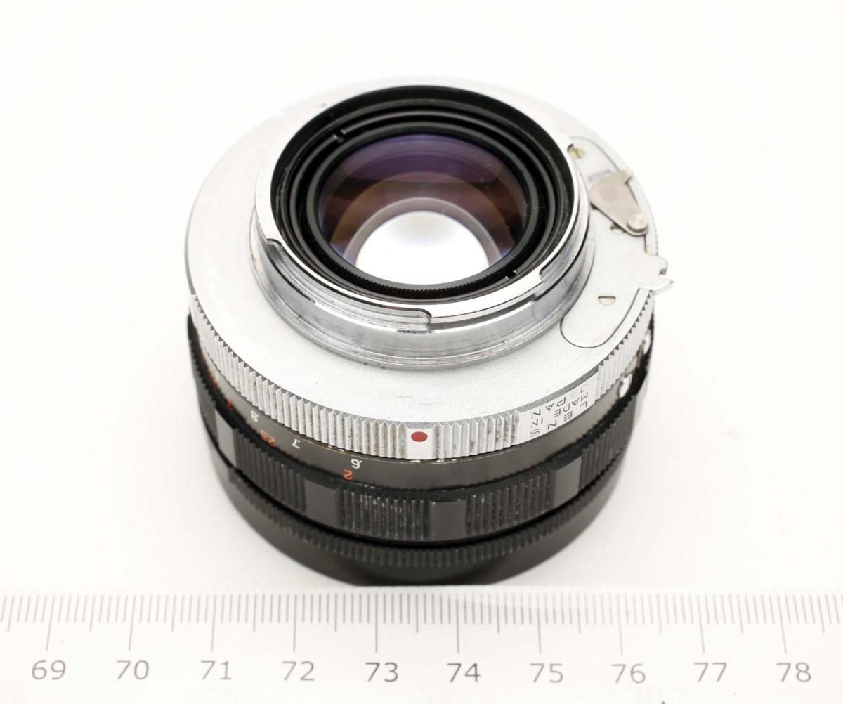 ※ Fマウント コニカ FP ヘキサノン 50mm f1.8 Konica Hexanon h1914_画像9