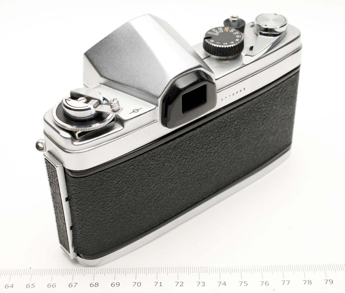 ※ Fマウント コニカ FP ヘキサノン 50mm f1.8 Konica Hexanon h1914_画像3