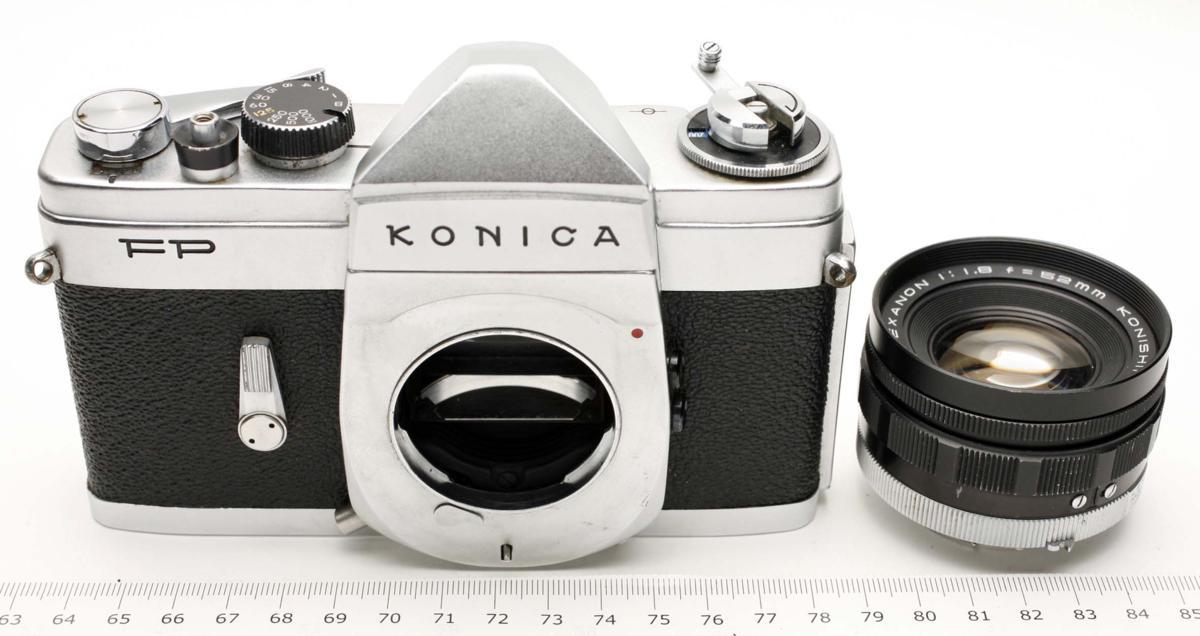 ※ Fマウント コニカ FP ヘキサノン 50mm f1.8 Konica Hexanon h1914_画像1