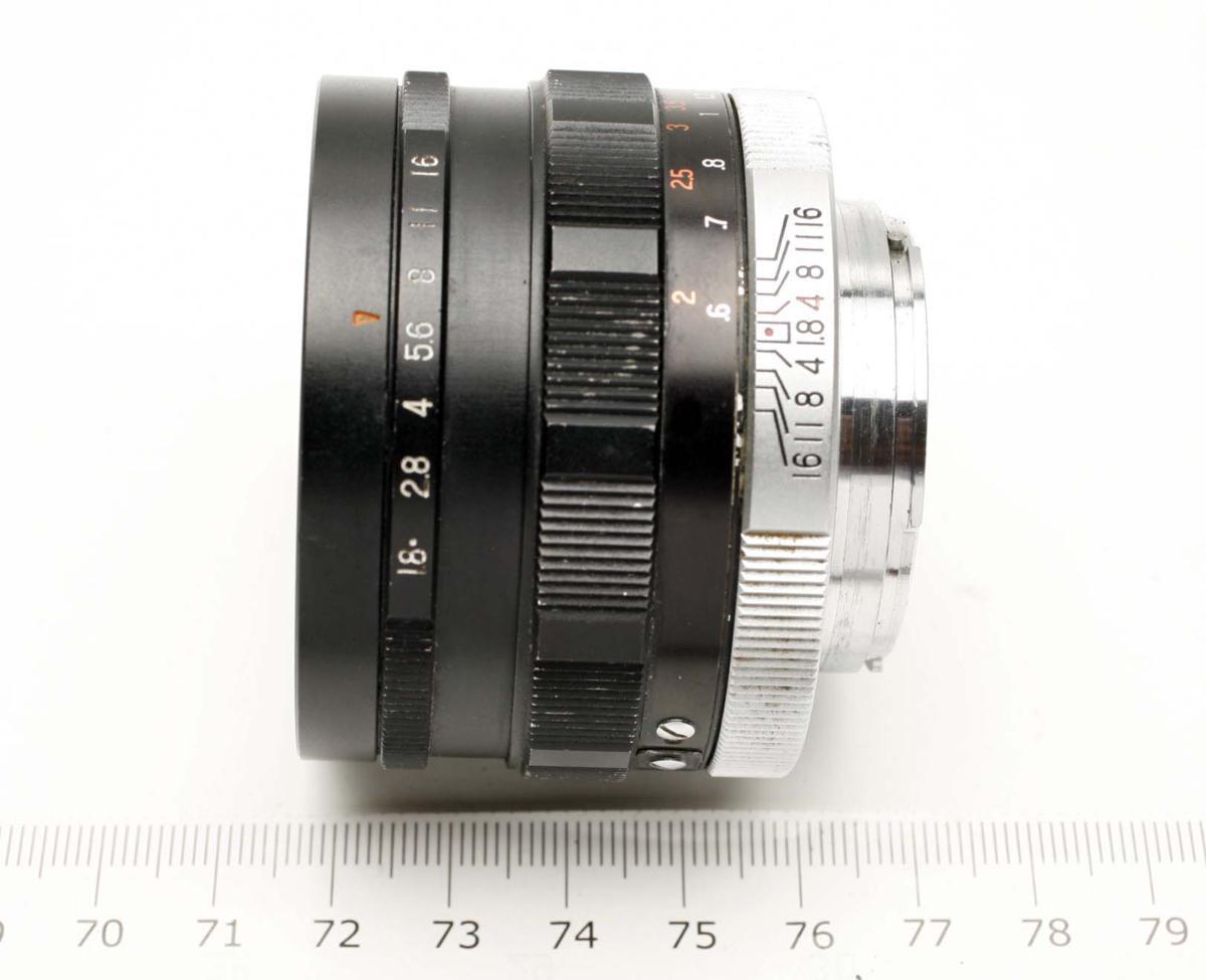 ※ Fマウント コニカ FP ヘキサノン 50mm f1.8 Konica Hexanon h1914_画像10