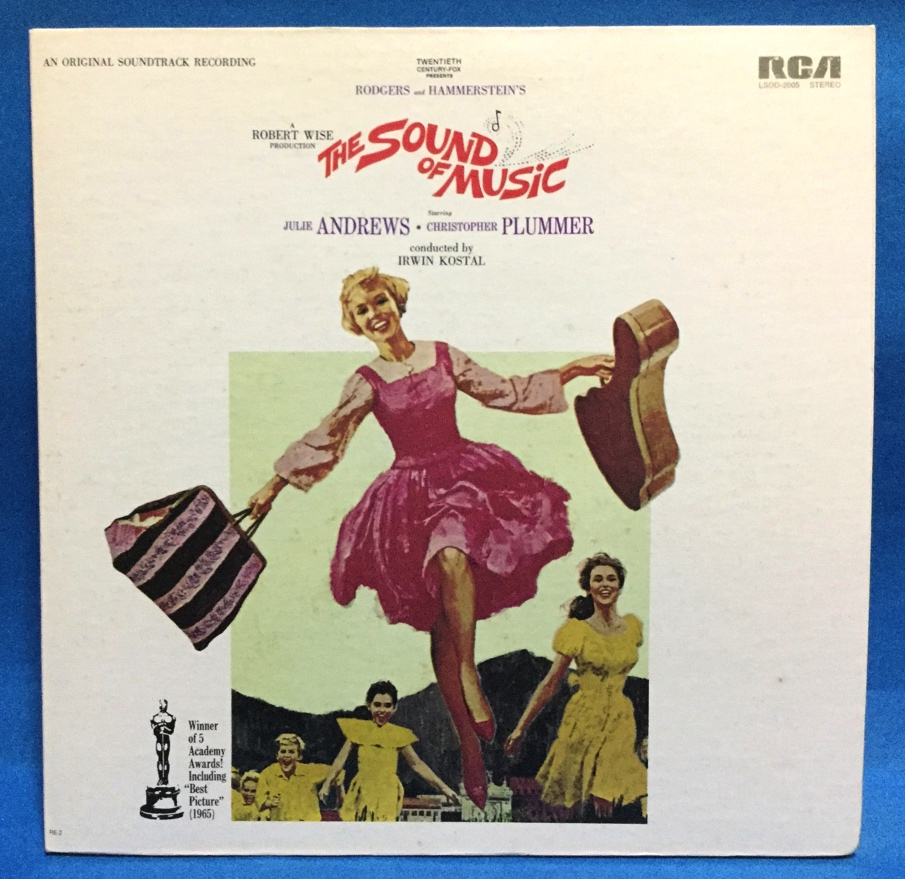 LP 映画 THE SOUND OF MUSIC 米盤_画像1