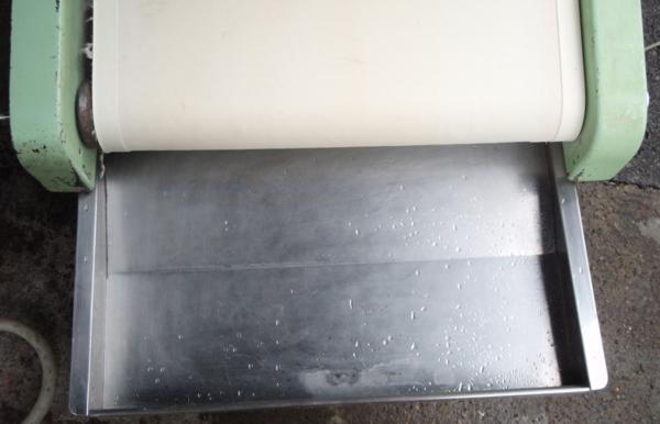 ◆河野製作所 手打麺機「信濃」麺切りユニット現状ベルト不動◆_画像8