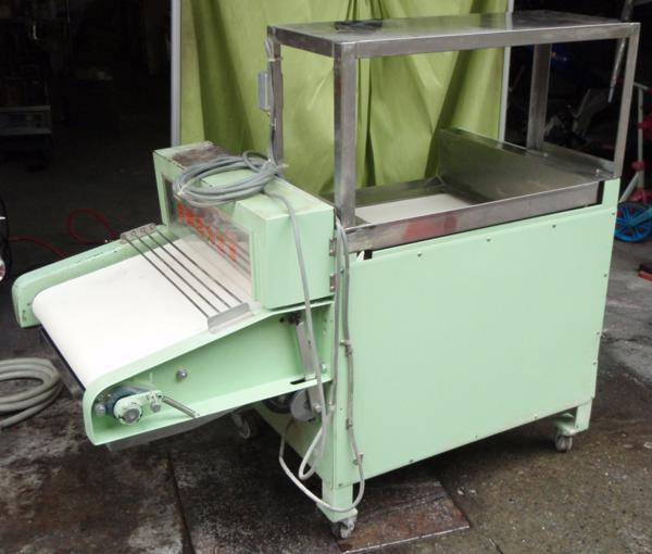 ◆河野製作所 手打麺機「信濃」麺切りユニット現状ベルト不動◆_画像2