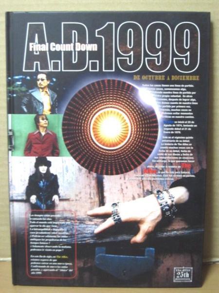 送109 THE ALFEE ツアーパンフレット A.D.1999 DE OCTUBRE A DIC