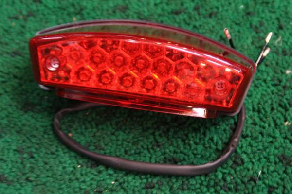 DUCATI ドゥカティ モンスター LED テールランプ ナンバー灯付!_画像1