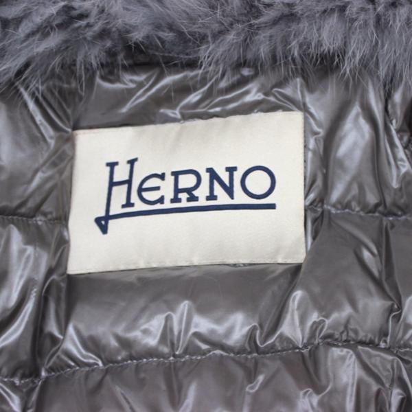 ヘルノ HERNO スパンコール ニットダウンジャケット アウター_画像7