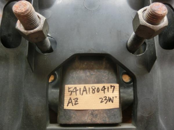 AZオフロード スペアタイヤ キャリア TA-JM23W平成12年 走行8.2万キロ ジムニー JB23W   y.y_画像3