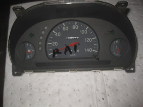 【35415】 RA1 プレオ スピードメーター  154875 km 棚7_画像1
