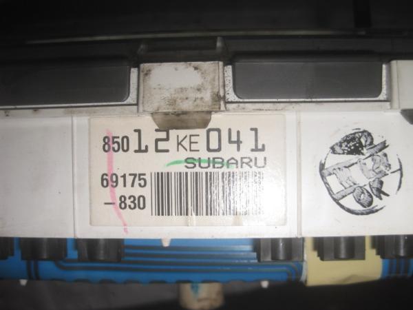 【35415】 RA1 プレオ スピードメーター  154875 km 棚7_画像4