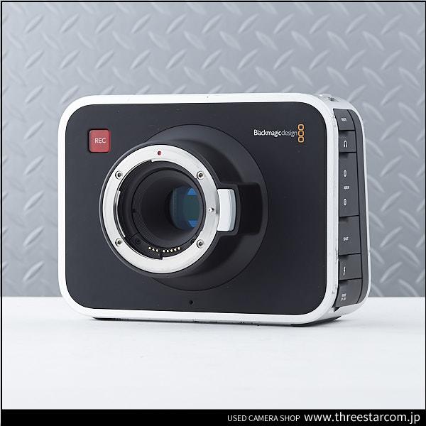Blackmagic ブラックマジック Blackmagic Design Cinema Cameras EF 2.5K センサー