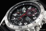 1円 セイコー SEIKO ミリタリー 海外モデル 100m防水 1/20秒高速 センター クロノグラフ 時計