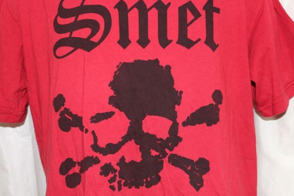 スメット SMET メンズ半袖Tシャツ Lサイズ レッド 新品 赤_画像3