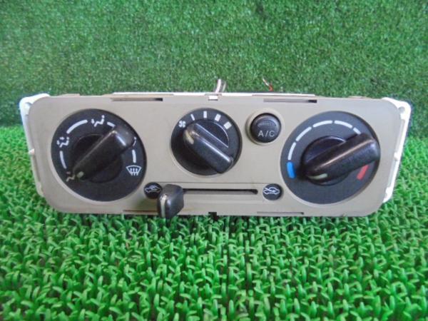 3BQ2607KD5 ) MRワゴン MF21S 後期型 純正エアコンスイッチパネル