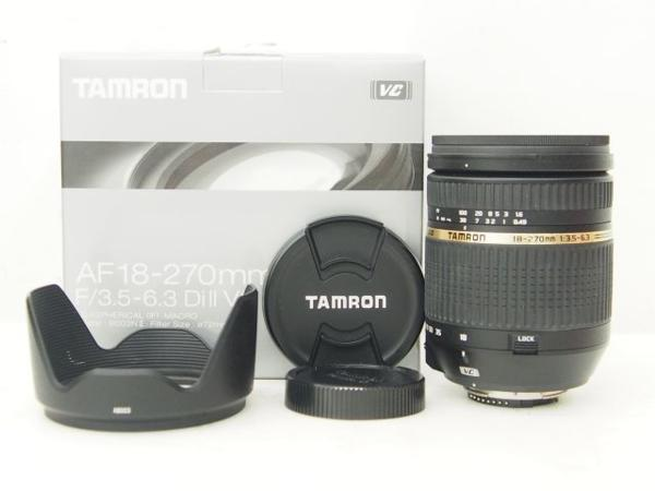 TAMRON 18-270mm 1:3.5-6.3 DiII VC レンズ ニコン ▽ 4DED6-2