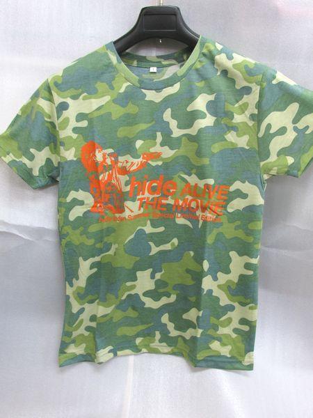 ◆◇hide ALIVE THE MOVIE 迷彩Tシャツ Sサイズ◇◆