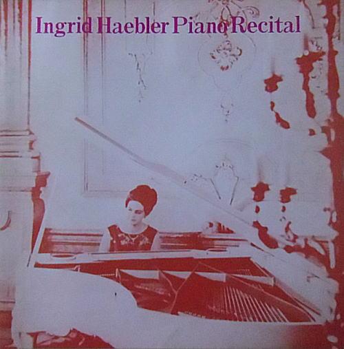 即決!ピアニスト、イングリッド・ヘブラー/1977年来日公演/パンフレット