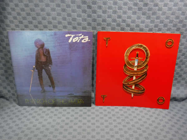B182● TOTO(トト) ツアーパンフレット 2冊セット / IN SEARCH OF THE HYDRA1980 / 1982年