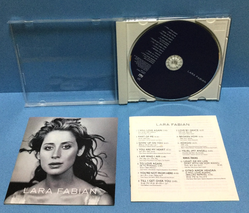 CD 洋楽 Lara Fabian / ララ・ファビアン 日本盤_画像2