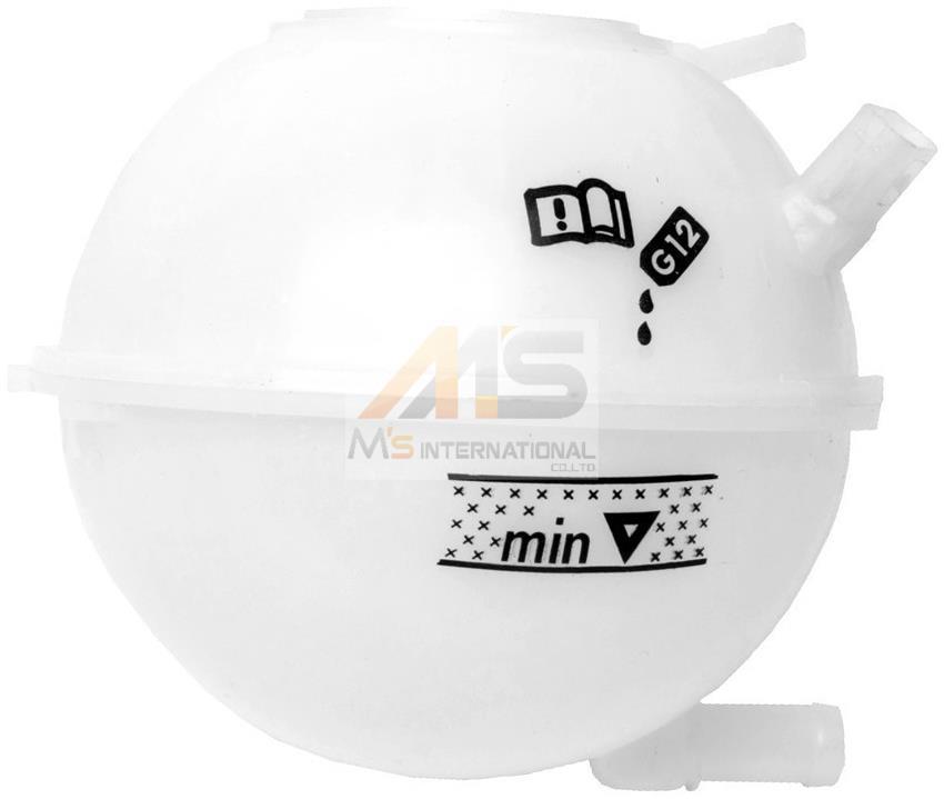 【M's】VW ニュービートル(9C/1Y) ゴルフ4(1J) ボーラ(1J)純正品 ラジエター サブタンク//正規品 エクスパンションタンク 1J0-121-407F_画像1