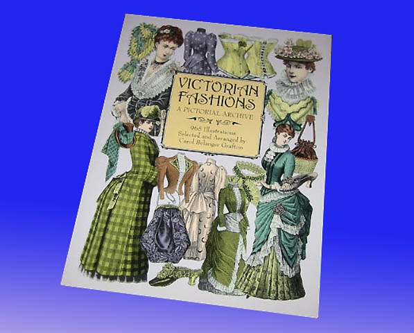 洋書 ビクトリアのファッション: 絵のアーカイブ/ Victorian Fashions: A Pictorial Archive (輸入品_画像1