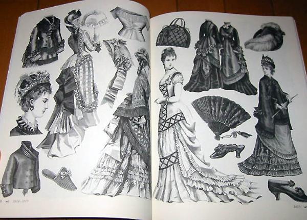 洋書 ビクトリアのファッション: 絵のアーカイブ/ Victorian Fashions: A Pictorial Archive (輸入品_画像3
