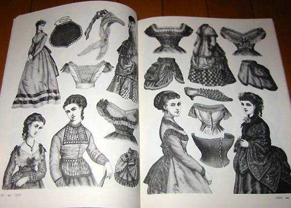洋書 ビクトリアのファッション: 絵のアーカイブ/ Victorian Fashions: A Pictorial Archive (輸入品_画像2