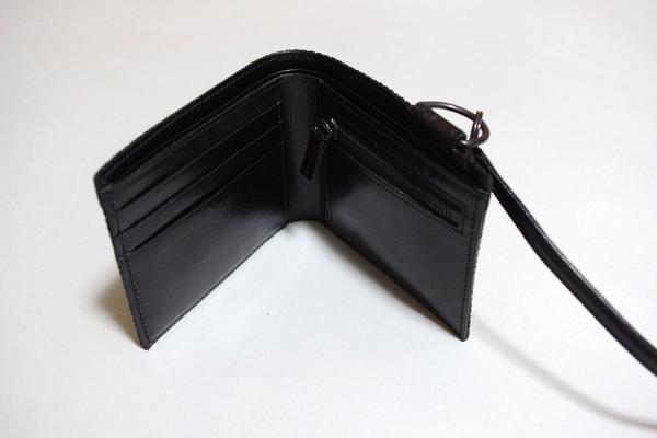 特価ミスハリN.HOOLYWOODレザー二つ折り革財布/クアドロフェニア_画像2