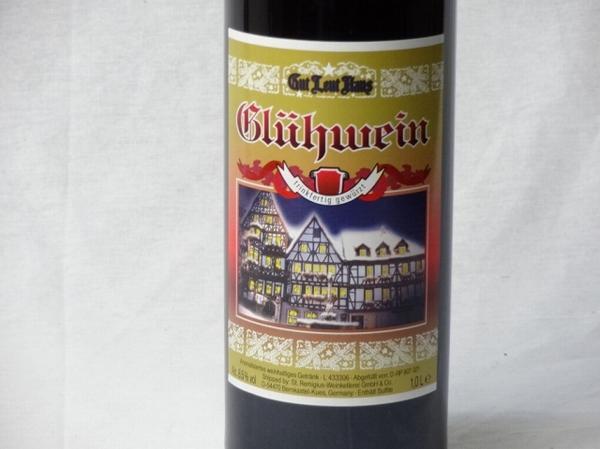 ドイツホット赤ワイン3本セット ゲートロイトハウス グリュー_画像2