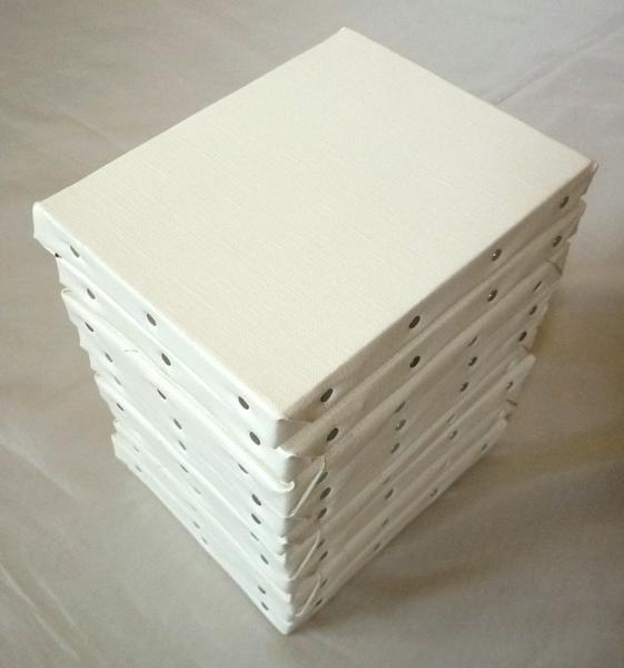 画材 張りキャンバス 綿化繊 TC SMサイズ 10枚セット_画像1
