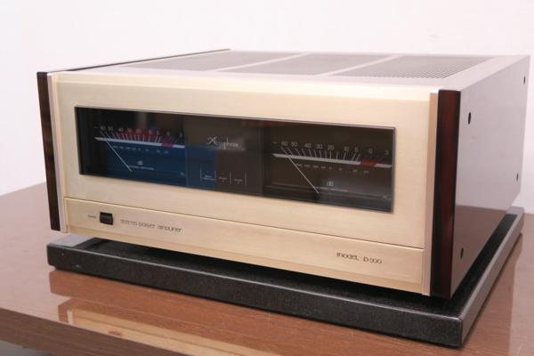 Accuphase P-500 ステレオパワーアンプ REWIRE INC#R01618