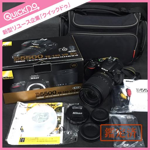Nikon ニコン D5500 18‐140 VR KIT デジタル 一眼レフ カメラ 本体 初期化済み
