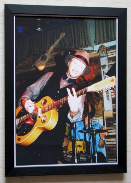 ロイ・ロジャース/大型アートピク額/Roy Rogers/スライドギター
