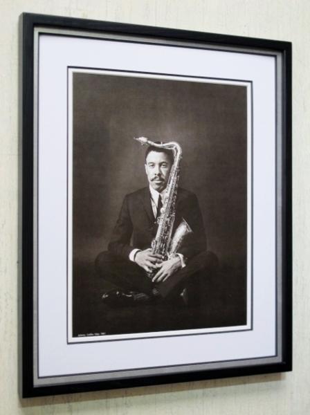 ジョニー・グリフィン/1961/アートピクチャー額装/Johnny Griffin/額入りジャズ/Framed Johnny Griffin/ガンボアート/新品