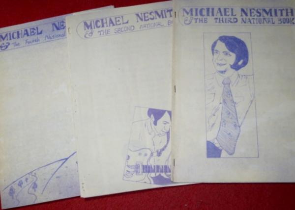 0715お2■会報■マイク・ネスミスFC70年代3冊 モンキーズ(送無