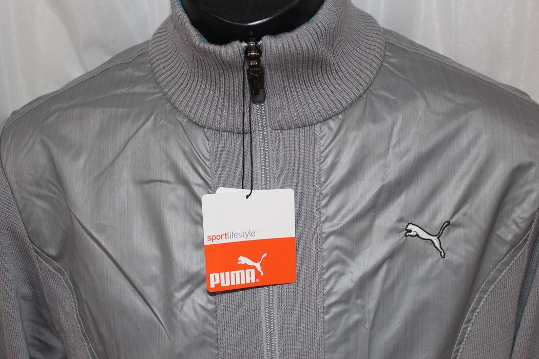 プーマ PUMA メンズ ブルゾン グレー Lサイズ 902513 02 新品_画像3