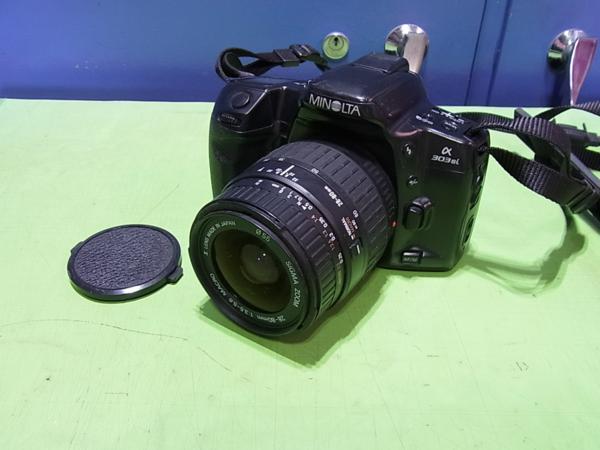 ■MINOLTA α303si / レンズ SIGMA ZOOM 28-80mm 1:3.5-5.6MARCO_画像1