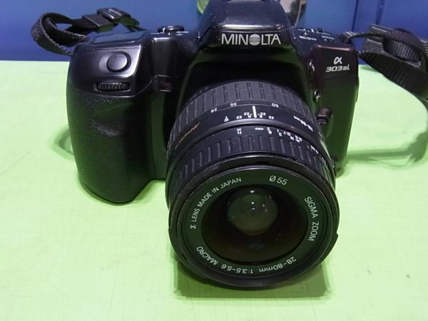 ■MINOLTA α303si / レンズ SIGMA ZOOM 28-80mm 1:3.5-5.6MARCO_画像2