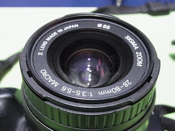 ■MINOLTA α303si / レンズ SIGMA ZOOM 28-80mm 1:3.5-5.6MARCO_画像3
