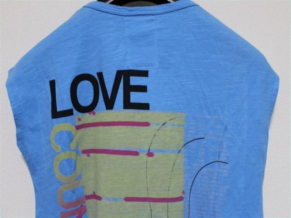 カントリーラブ Country Love レディース半袖Tシャツ ブルー 新品_画像5