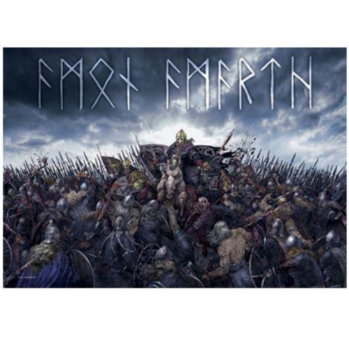 海外限定 公式 Amon Amarth アモン アマース 特大布ポスターG106
