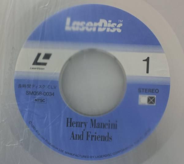 LD HENRY MANCINI & FRIENDS ライブ盤★角帯付[443FP_画像5