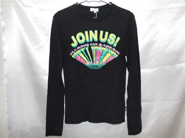 パシフィックコースト PACIFIC COAST レディース長袖Tシャツ Mサイズ ブラック 新品_画像1