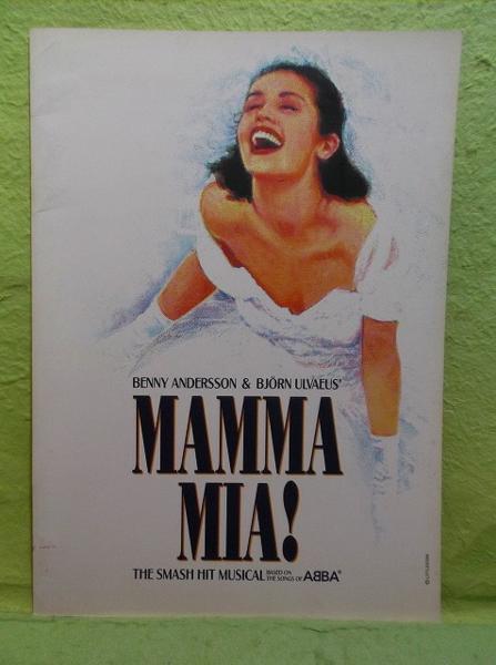 ♥パンフ マンマ・ミーア BENNY ANDERSSON