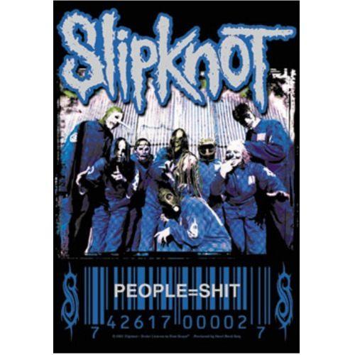 海外限定 公式 Slipknot スリップノット 特大布ポスター G97