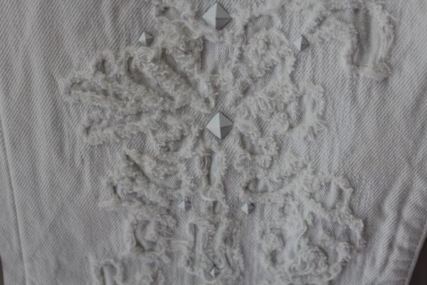 リーバイス Levi's レディース デニムパンツ 501 ホワイト ジーンズ 27インチ 新品_画像5