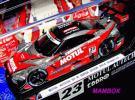 【1円~】EB☆1/43 45107 モチュール MOTUL AUTECH GT-R SUPER GT500 2014 No.23 Champion CarRed