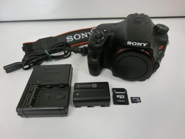 f890 ソニー デジタル一眼カメラ α57 SLT-A57 ボディ 状態良好 中古