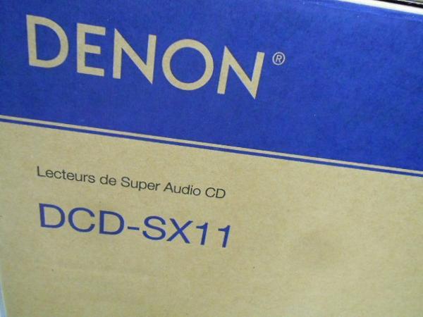 【未開封】DENON SACD/CDプレーヤー DCD-SX11 標準価格 388,800円 スーパーオーディオCD プレーヤー