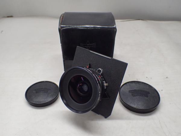 Schneider-Kruznach 大判用レンズ Super-Angulon 65mm F5.6 ▼ 4D9CB-2